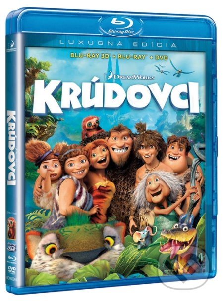 Krúdovci 3D+BD+DVD BLU-RAY