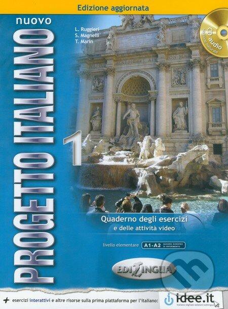 Nuovo Progetto Italiano 1: Quaderno degli Esercizi + CD -