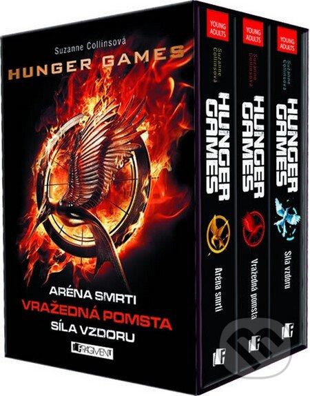 Hunger Games - 3 knihy v dárkovém boxu - Suzanne Collins