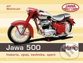 Jawa 500 - Jiří Wohlmuth