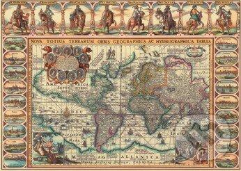 Historická mapa sveta -