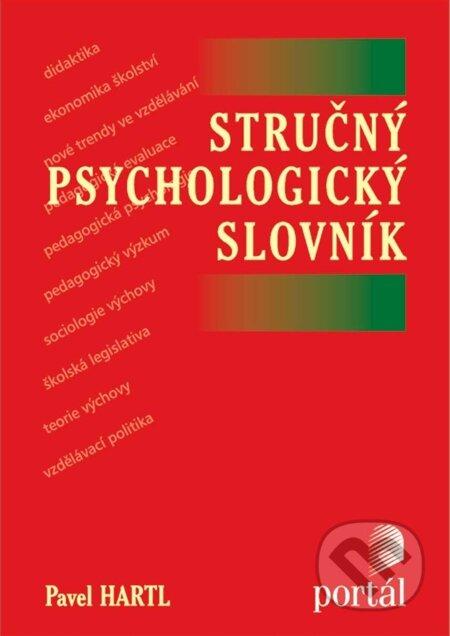 Stručný psychologický slovník - Pavel Hartl