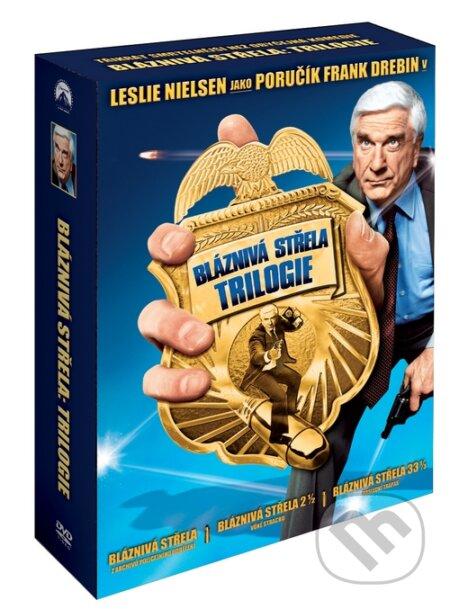 Bláznivá střela: Trilogie DVD