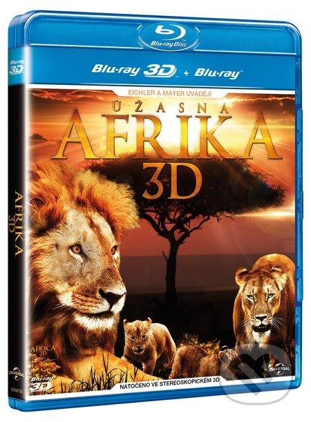 Úžasná Afrika 3D BLU-RAY