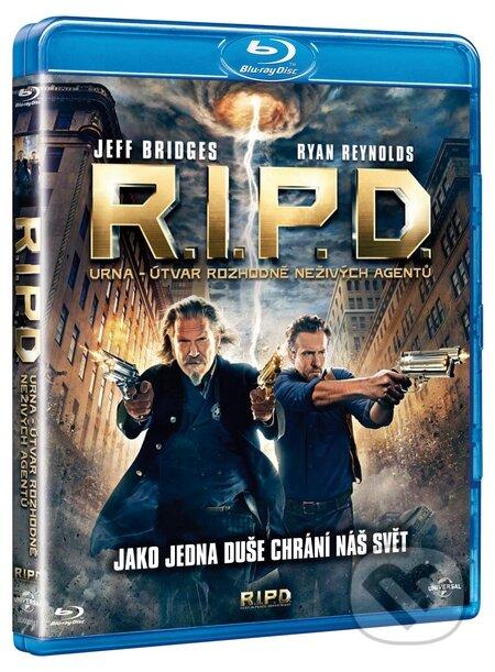 R.I.P.D.: URNA - Útvar Rozhodně Neživých Agentů BLU-RAY