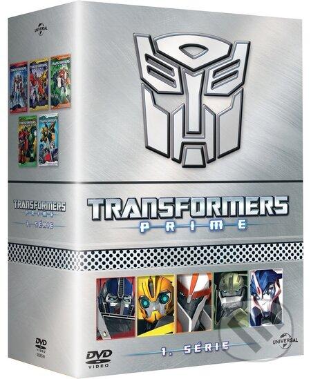 Transformers Prime kompletní 1. série DVD