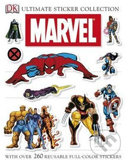 Marvel Ultimate Sticker Collection -