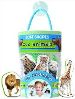 Soft Shapes Tub Stickables: ZOO animals -