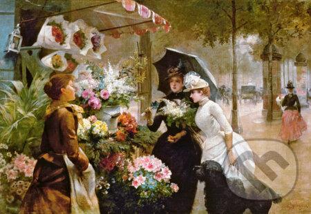 Flower Stand in Paris -