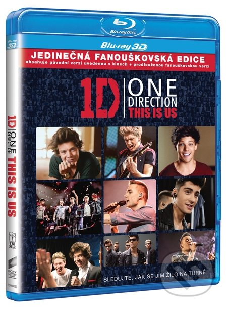 One Direction: This is Us 3D BLU-RAY