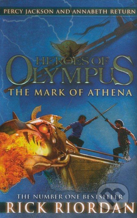 Heroes of Olympus: The Mark of Athena - Rick Riordan