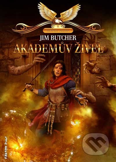 Akademův živel - Jim Butcher