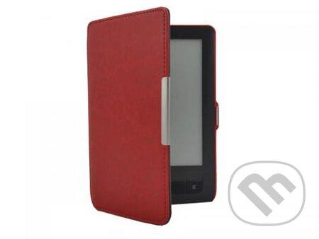 Puzdro Durable pre PocketBook 622/623 (červené) -