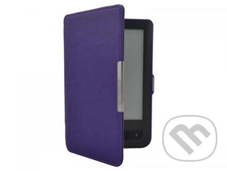 Puzdro Durable pre PocketBook 622/623 (fialové) -