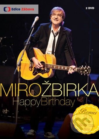 Miro Žbirka Happy Birthday DVD