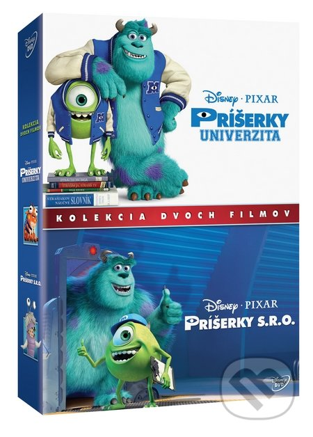 Príšerky kolekcia 1.-2. DVD