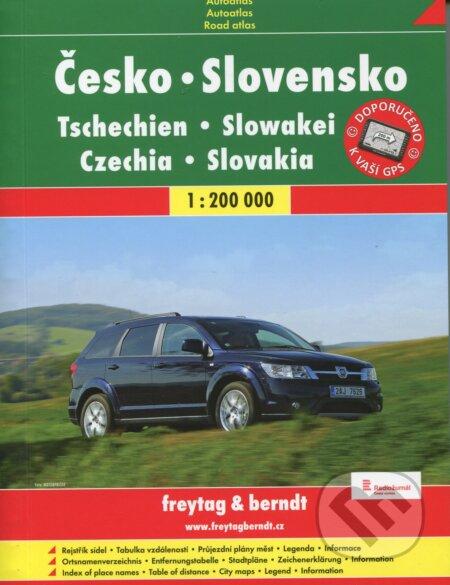 Česko-Slovensko 1:200 000 -