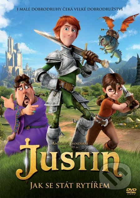 Justin: Jak se stát rytířem DVD