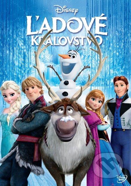 Ľadové kráľovstvo (slovenský dabing) DVD
