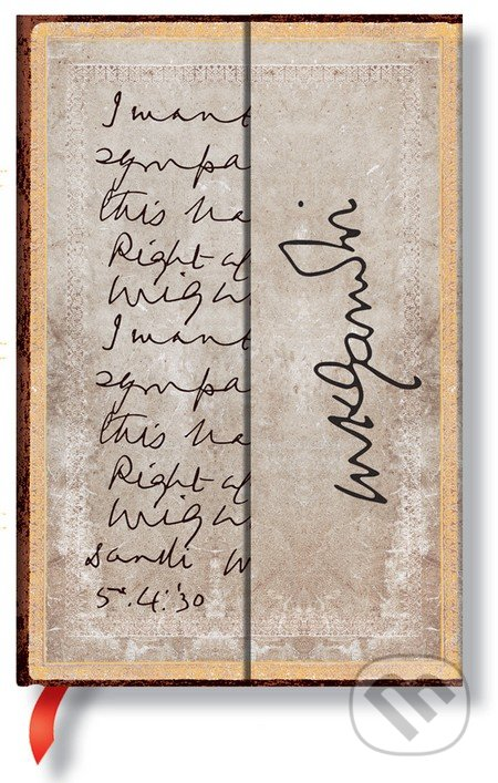Paperblanks - Gandhi, Right Against Might -