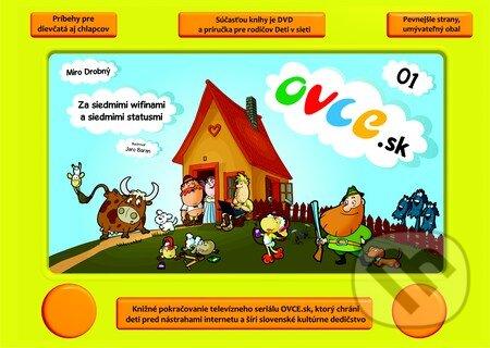 Ovce.sk (01) + Deti v sieti + DVD - Miro Drobný