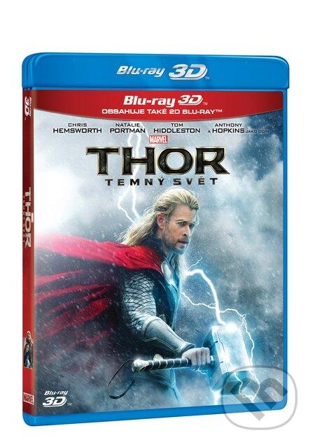 Thor: Temný svět 3D BLU-RAY