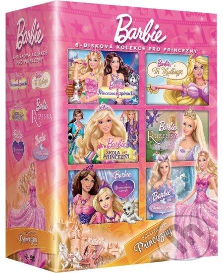 Barbie: Kolekce pro princezny 6DVD DVD
