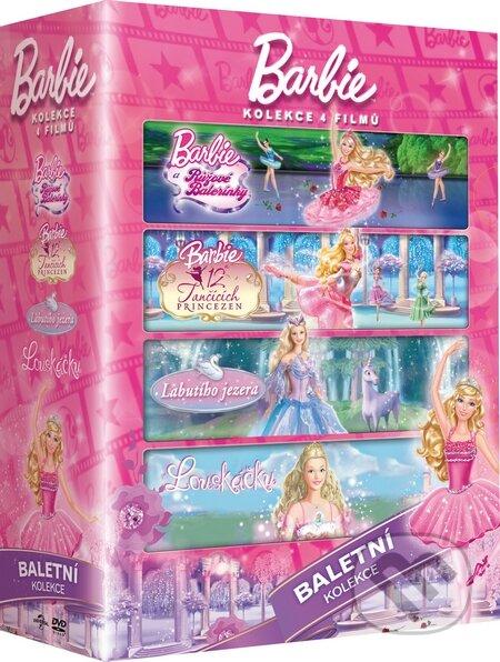 Barbie: Baletní kolekce 4DVD DVD