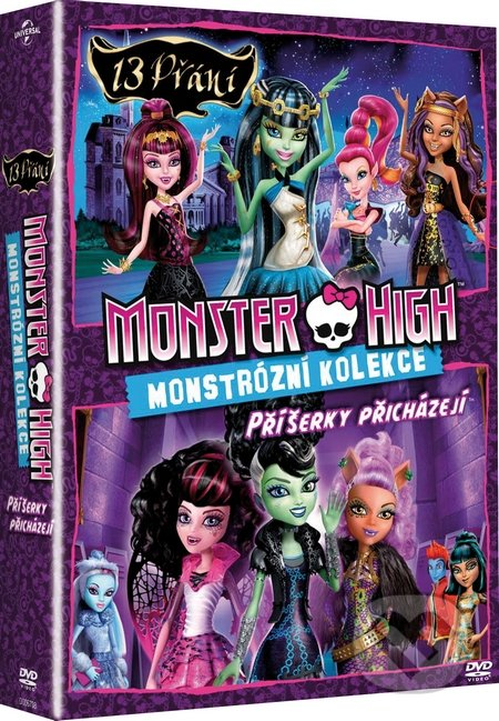 Kolekce Monster High DVD
