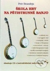 Škola hry na pětistrunné banjo + CD - Petr Brandejs