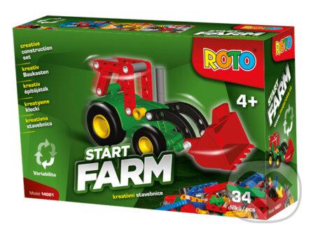 ROTO stavebnica: Traktor -