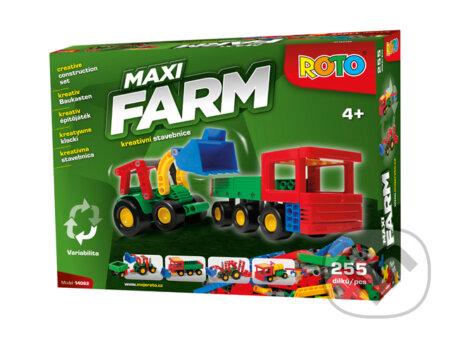 ROTO stavebnica: Maxi FARM 255 dílků -