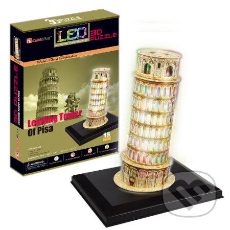 LED - Šikmá veža v Pise -