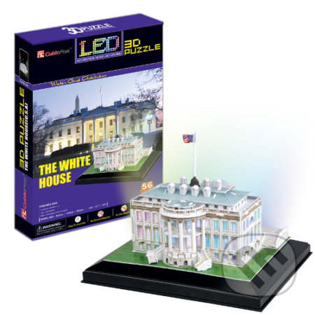 LED - Biely dom -