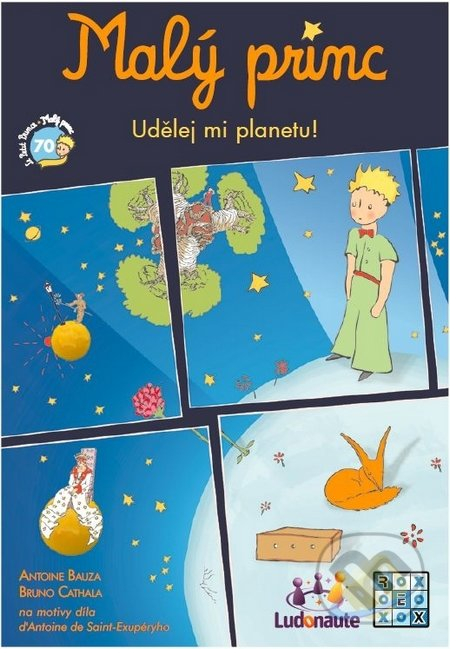 Malý princ: Udělej mi planetu! - Antoine Bauza, Bruno Cathala