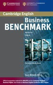 Business Benchmark Advanced - Personal Study Book for BEC and BULATS - Guy Brook-Hart