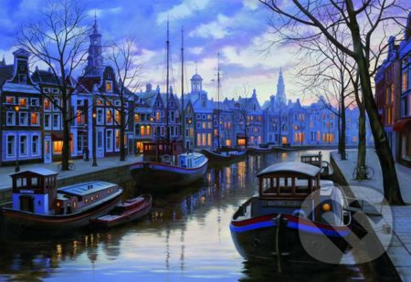 Amsterdam in the Evening - Eugene Lushpin