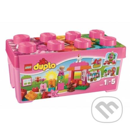 LEGO DUPLO 10571 Ružový box plný zábavy -