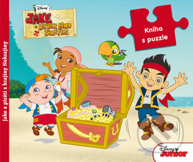 Jake a piráti z krajiny Nekrajiny - Kniha s puzzle -