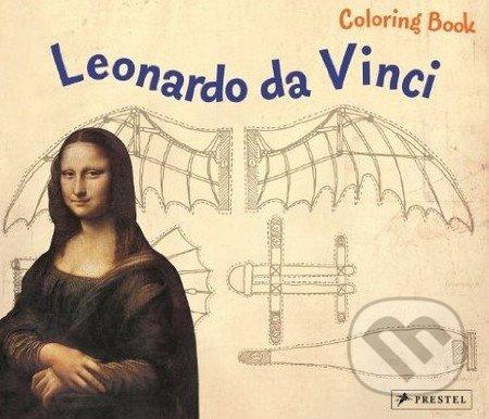 Leonardo da Vinci Coloring Book - Inge Sauer