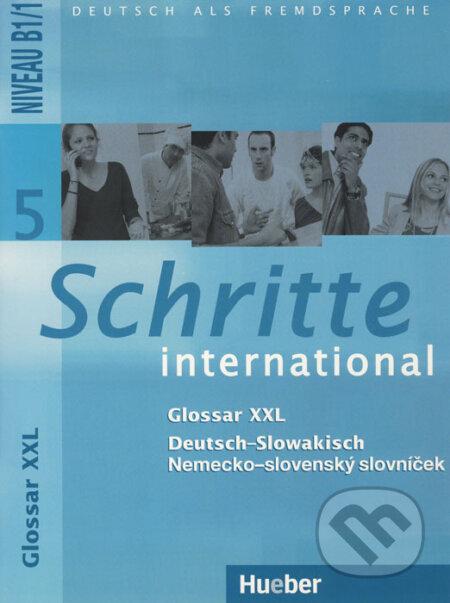 Schritte international 5: Glossar XXL -