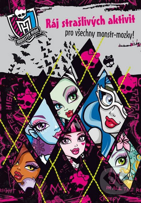 Monster High: Ráj strašlivých aktivit pro všechny monstr-mozky! - Mattel