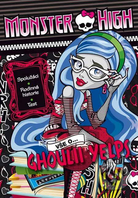 Monster High: Vše o Ghoulii Yelps - Mattel