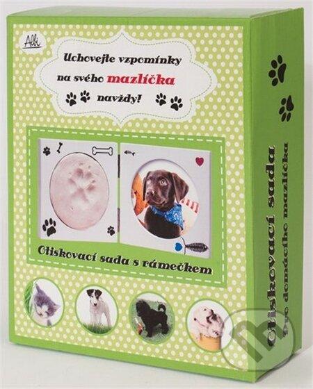 Odtlačková súprava na labku Vášho zvieracieho miláčika -