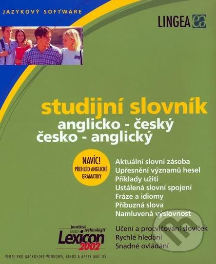 Studijní slovník, anglicko-český, česko-anglický -