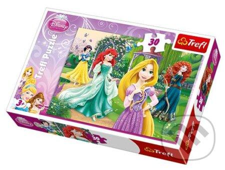 Princezny - Locika, Merida, Ariel a Sněhurka -