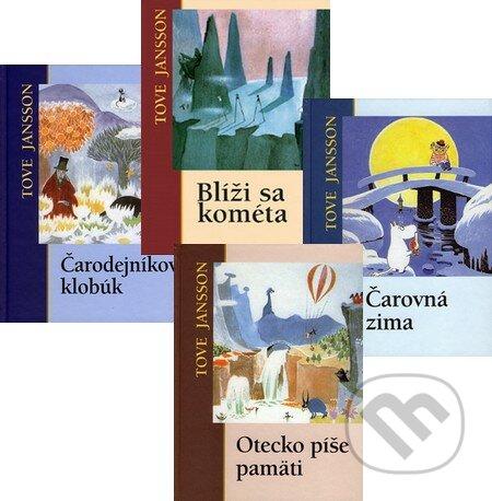 Blíži sa kométa + Čarodejníkov klobúk + Otecko píše pamäti + Čarovná zima (kolekcia štyroch titulov) - Tove Jansson
