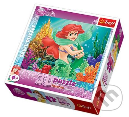 3D Mořská víla -