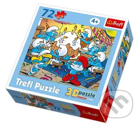 3D Smurfs - Birthday party -