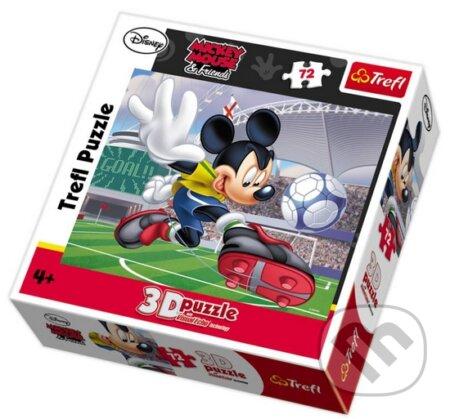 3D Mickey - Nejlepší fotbalista -